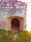 крепость в tesanj стоковые изображения