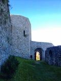 крепость в tesanj стоковая фотография