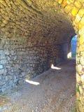 крепость в tesanj стоковое изображение rf