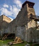 Крепость в Visegrad, Венгрии Стоковое фото RF