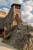 Крепость в Visegrad, Венгрии Стоковые Фотографии RF