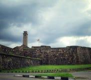 Крепость Галле, Шри-Ланка Стоковое Изображение