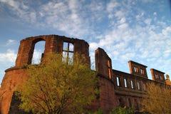 Крепость Гейдельберг стоковая фотография