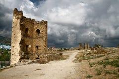 Крепость Генуи Стоковые Фотографии RF