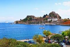 Крепость Греция Корфу Стоковая Фотография RF