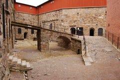 крепость двора Стоковое Изображение RF
