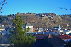 крепость дня предыдущая fredriksten весна Стоковые Фото
