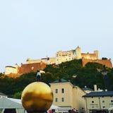 Крепость Зальцбурга стоковая фотография