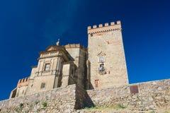 крепость замока aracena Стоковые Фотографии RF
