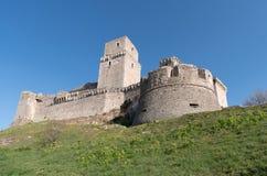 Крепость Италия, Assisi стоковая фотография rf