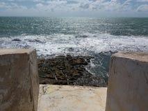 Крепость и море Стоковые Фотографии RF