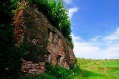 крепость кирпича старая стоковое изображение rf