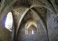 Крепость крестоносца.  Старый Caesarea Стоковое Фото