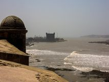 крепость Марокко памятника essaouira историческая Стоковые Изображения