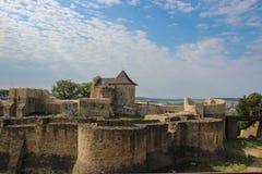 Крепость места Suceava Стоковые Фотографии RF