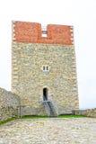 Крепость на замке Medvedgrad Стоковое Изображение RF