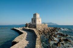 Крепость на острове Стоковые Фото