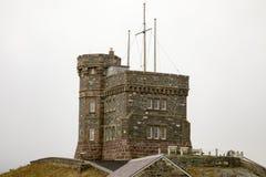 Крепость на холме сигнала, St. John, Ньюфаундленде, Канаде Стоковое Фото
