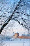 Крепость Новгорода Кремля в Veliky Новгороде, России Стоковое Изображение RF