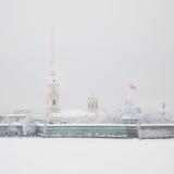 крепость Паыль peter Санкт-Петербург Россия Стоковая Фотография RF