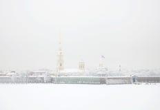 крепость Паыль peter Санкт-Петербург Россия Стоковое Изображение RF