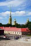 крепость Паыль peter st petersburg России Стоковые Изображения
