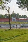 Крепость Питера и Пола Стоковые Фото