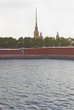 Крепость Питера и Пола Стоковое Фото