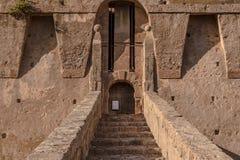 Крепость Порту Santo Stefano Стоковые Изображения RF