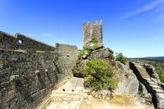 Крепость романск †Sortelha «средневековая Стоковые Фото