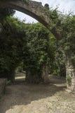 Крепость Родоса подстенка летания Стоковые Изображения