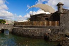 Крепость Сан-Хуана, Тенерифе, Испании Стоковая Фотография RF