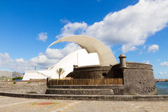 Крепость Сан-Хуана, Тенерифе, Испании Стоковые Фото