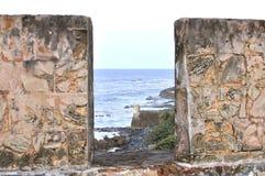 Крепость Сан-Хуана Стоковое Изображение RF