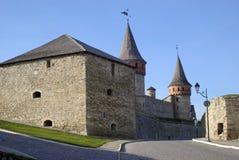 крепость средневековая Стоковое Изображение