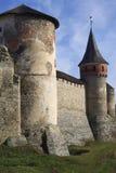 крепость средневековая Стоковое Фото