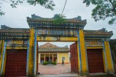 крепость старая Входной сигнал строба Оттенок, Вьетнам Стоковое Фото
