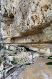 Крепость утеса Niha, Chouf, Ливан Стоковые Изображения