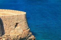 Крепость форта Spinalonga стоковая фотография rf