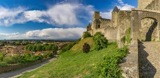 крепость Франция carcassonne Стоковая Фотография RF