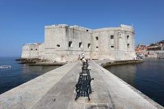 крепость Хорватии dubrovnik стоковая фотография