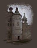 крепость бесплатная иллюстрация