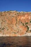 Крепость Alanya, Турция стоковое фото rf