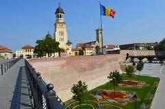 Крепость Alba Каролина Alba Iulia в Transilvania, Стоковая Фотография