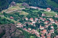 Крепость Belogradchik, Болгария стоковые фотографии rf
