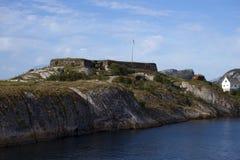 Крепость Bremnes, Бодо, Норвегия Стоковое Изображение