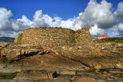 Крепость Cao (Gelfa) в Vila Прая de Ancora Стоковые Изображения