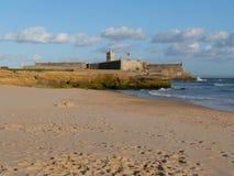 Крепость Carcavelos (Cascais, Португалия) Стоковые Изображения RF