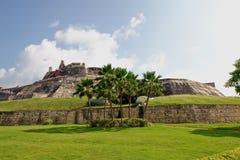 крепость cartagena Колумбии Стоковая Фотография RF