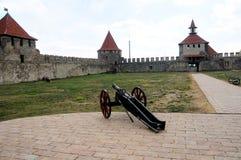 Крепость Cetatea Tighina в Приднестровье, республика Bendery Молдавии Стоковые Изображения